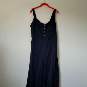 Gilli black wide leg jumpsuit